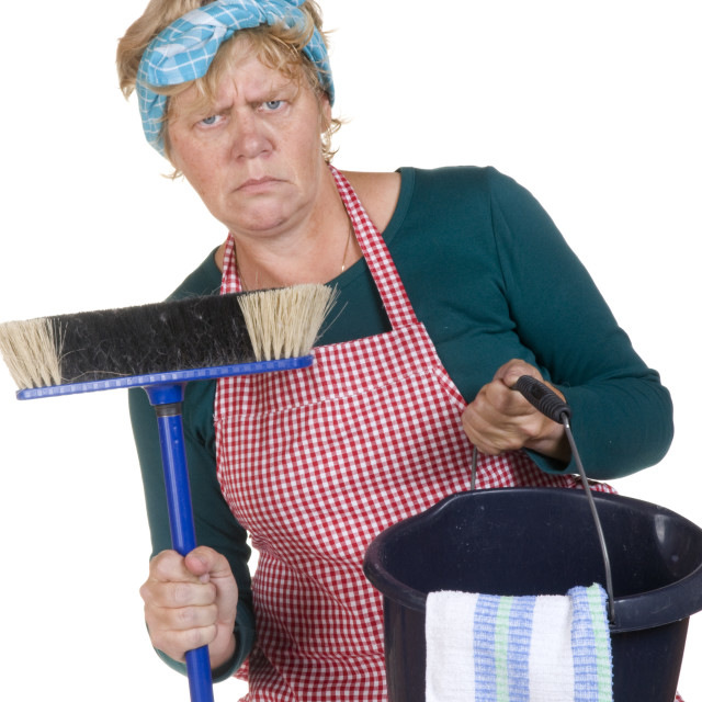 """""""Boring housekeeping"""" stock image"""