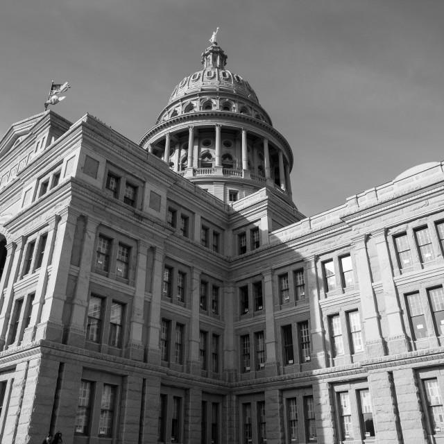 """Austin Capitol Building"" stock image"