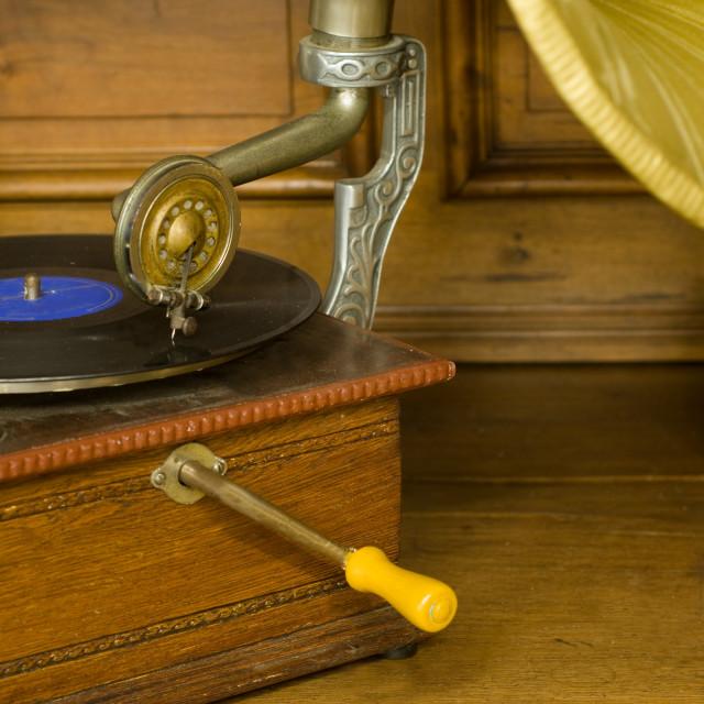 """Gramophone"" stock image"