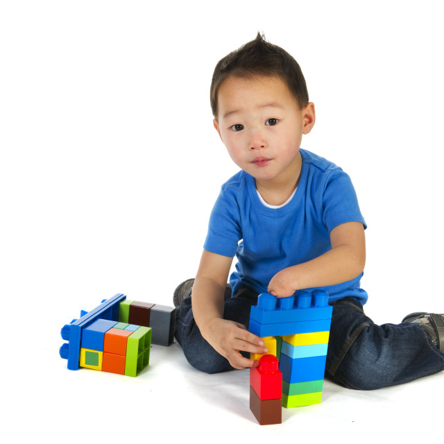 """""""Chinese special needs child"""" stock image"""