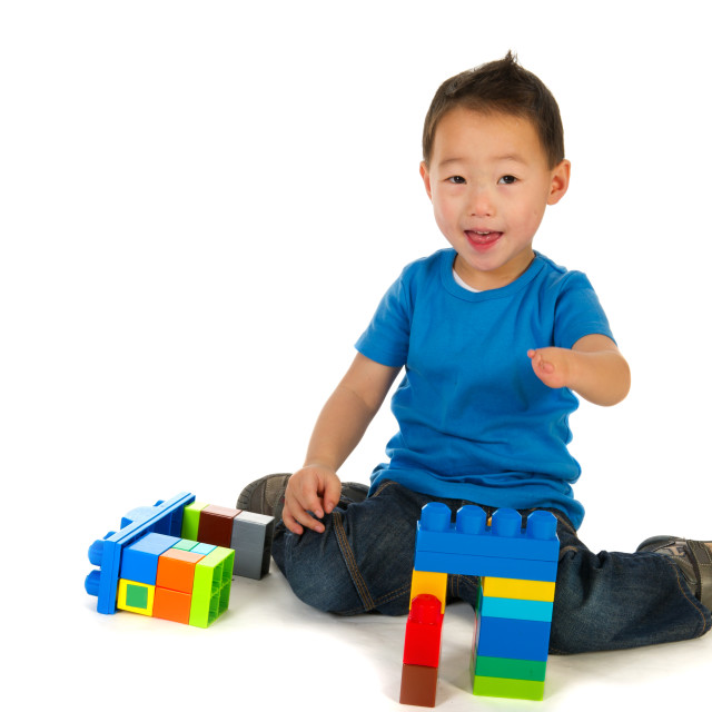 """""""Disabled Chinese boy"""" stock image"""