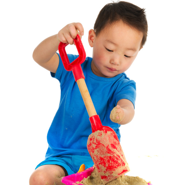 """""""Chinese boy with light physically handicap"""" stock image"""