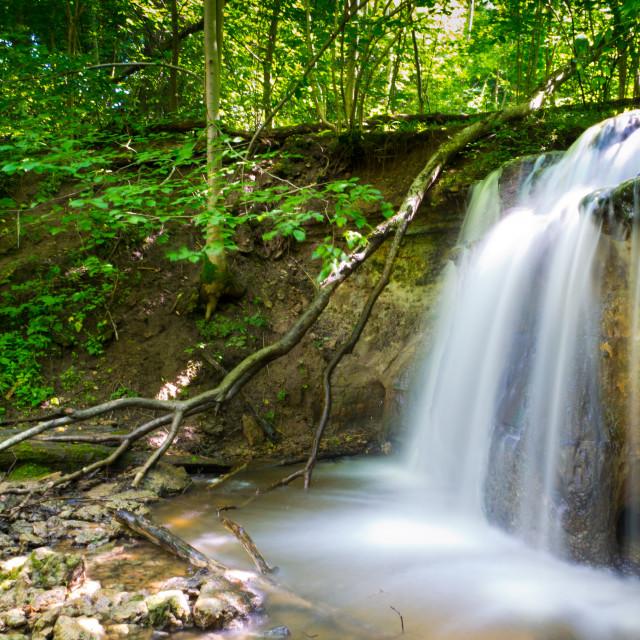"""Dauda Waterfall"" stock image"