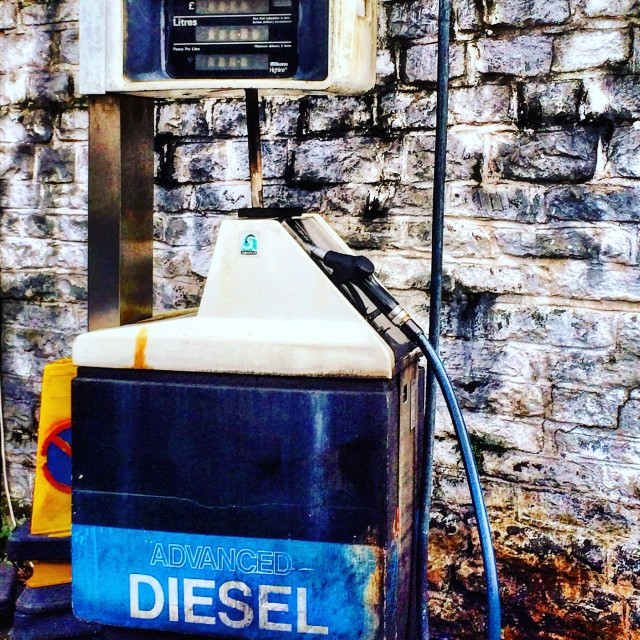 """Diesel fuel pump"" stock image"