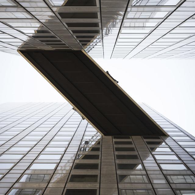 """""""Buildings in La Defense"""" stock image"""