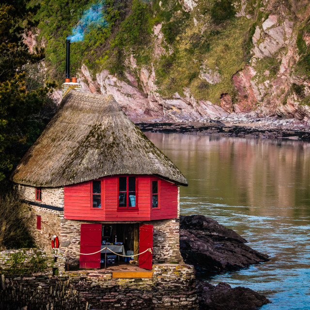 """The Boathouse"" stock image"