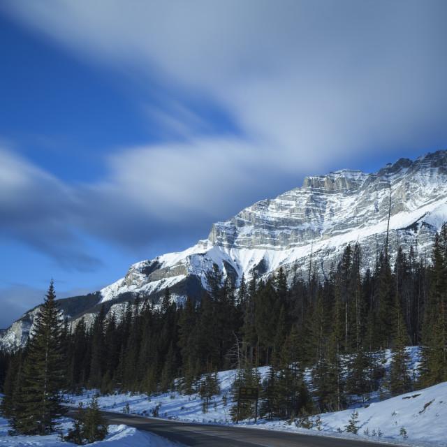 """""""Cacade Mountain"""" stock image"""