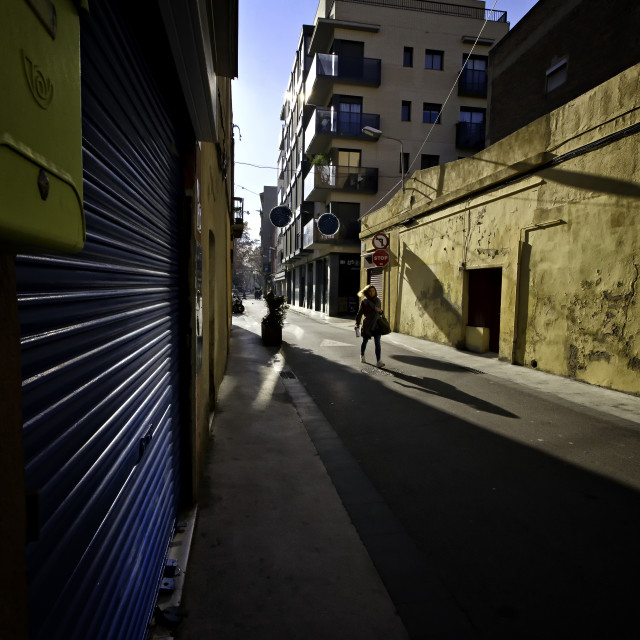 """""""Alley"""" stock image"""