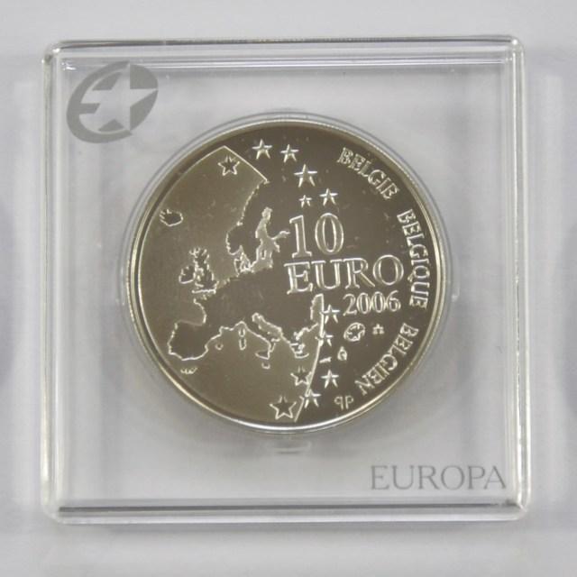 """""""10 Euro Silver Coins"""" stock image"""