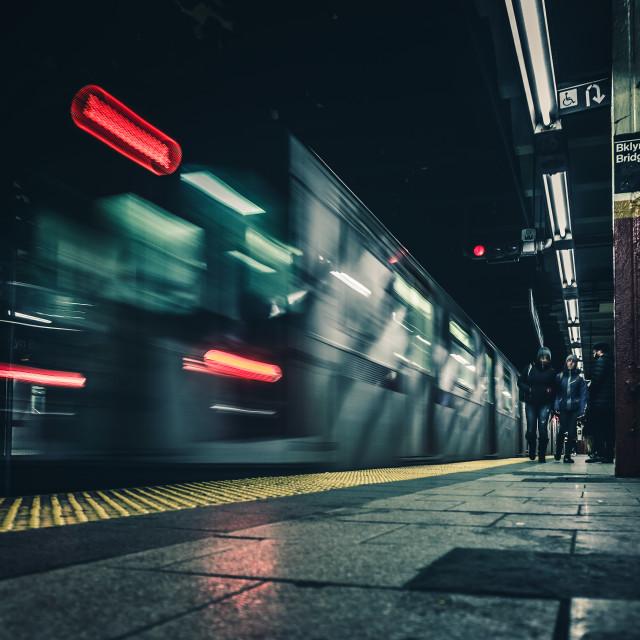 """subway"" stock image"