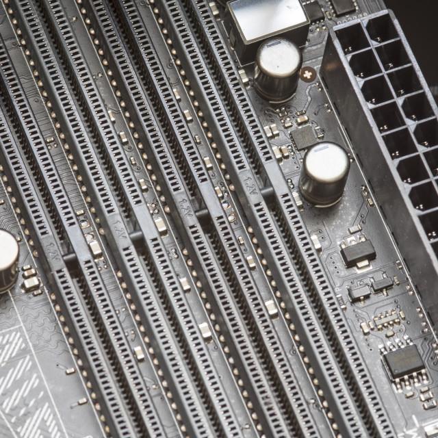 """Motherboard socket"" stock image"