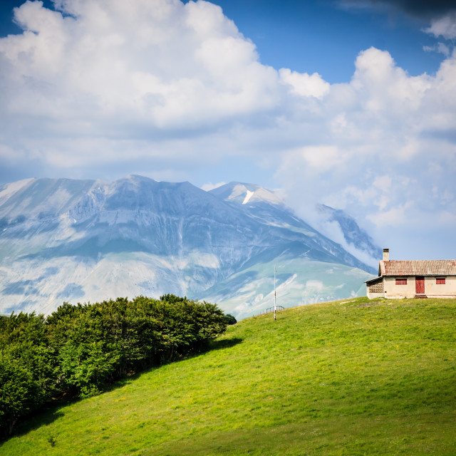 """""""Mountainscapes 01"""" stock image"""