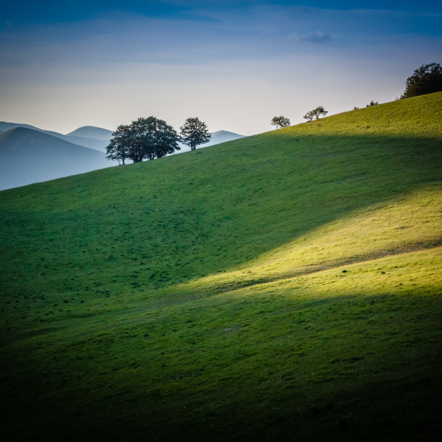 """""""Mountainscapes 02"""" stock image"""