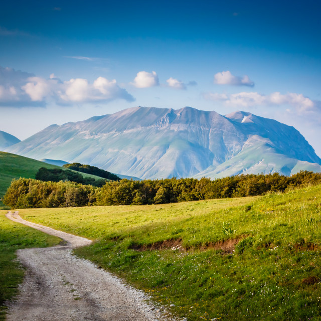 """""""Mountainscapes 03"""" stock image"""