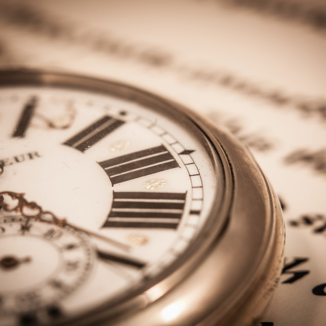 """""""Time and Words"""" stock image"""