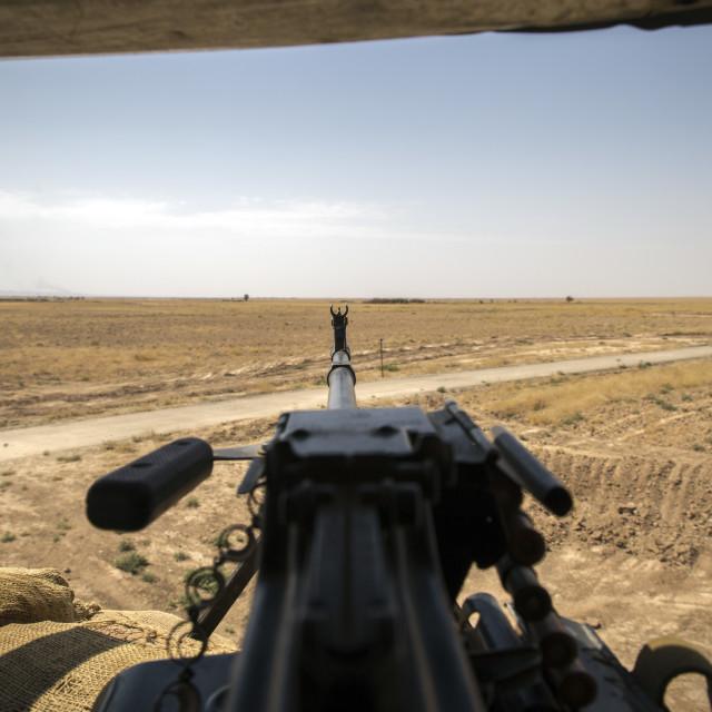 """Frontline in Iraq"" stock image"