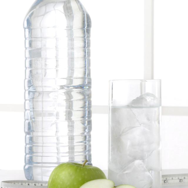 """Water bottle fruit 04"" stock image"
