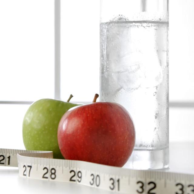 """Water fruit tape 01"" stock image"