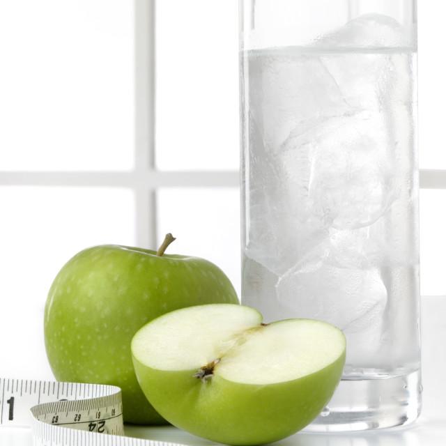 """Water fruit tape 03"" stock image"