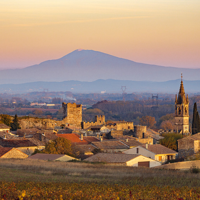 """Aigueze, France"" stock image"