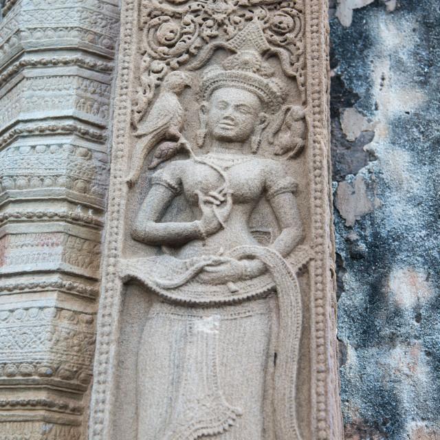 """THAILAND ISAN SURIN SIKHORAPHUM TEMPLE"" stock image"