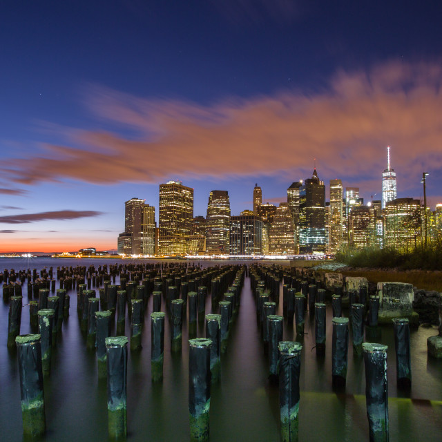 """Manhattan Skyline"" stock image"