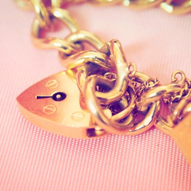 """Charm Bracelet"" stock image"