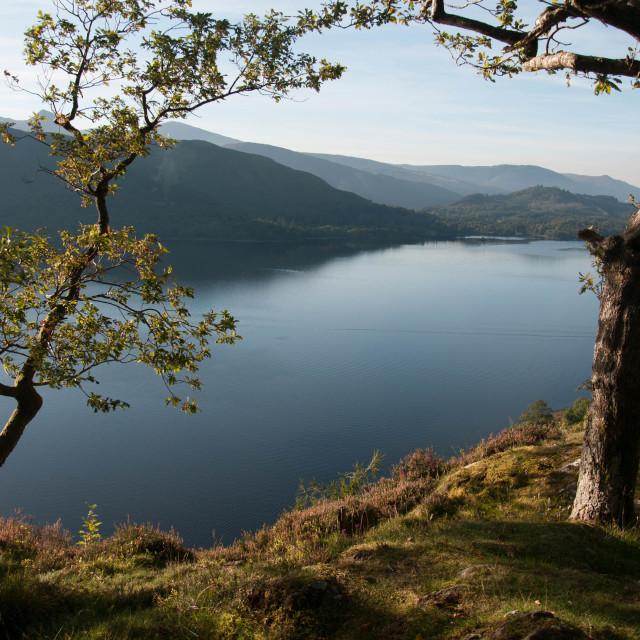"""""""Derwentwater Lake District"""" stock image"""
