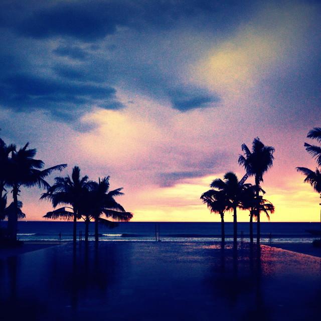 """""""Dawn at Fusion Maya"""" stock image"""