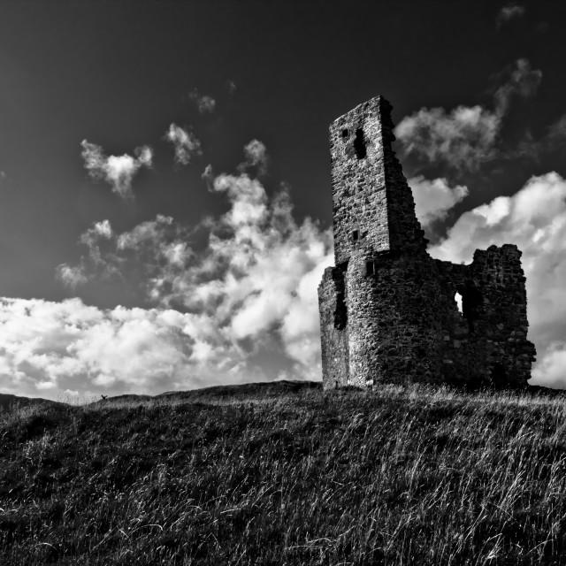 """Ardvreck Castle - Loch Assynt"" stock image"