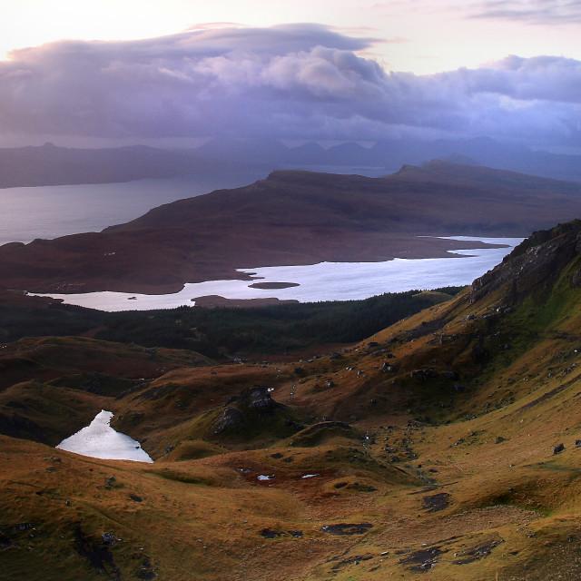 """Old man of Storr - Isle of Skye"" stock image"