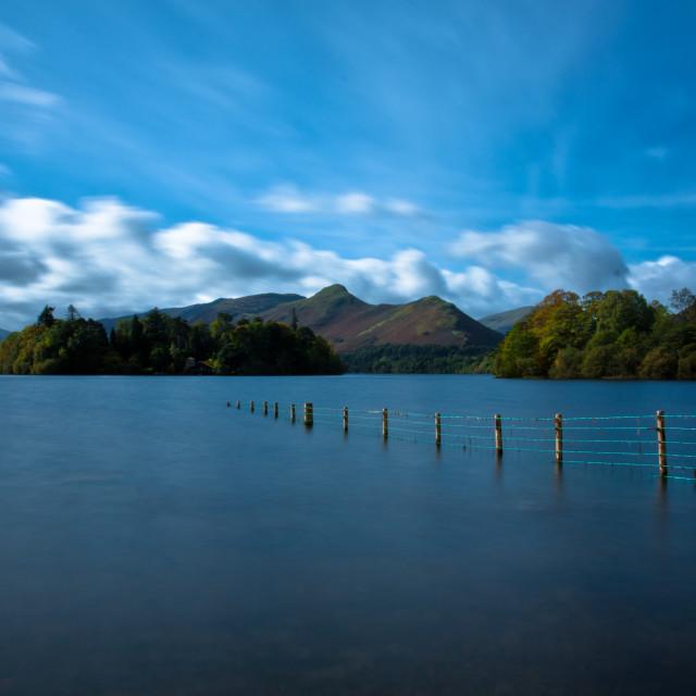 """""""Derwentwater - Keswick - Lake District"""" stock image"""