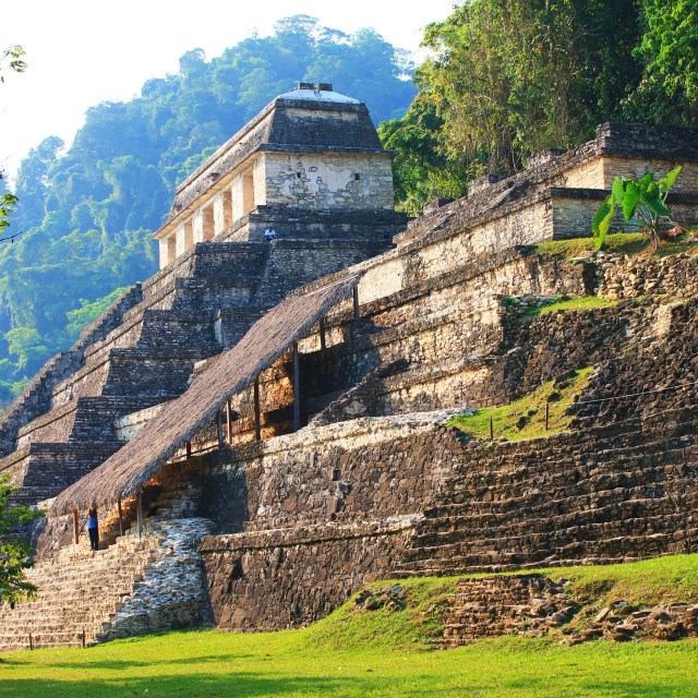"""""""palenque ruins"""" stock image"""