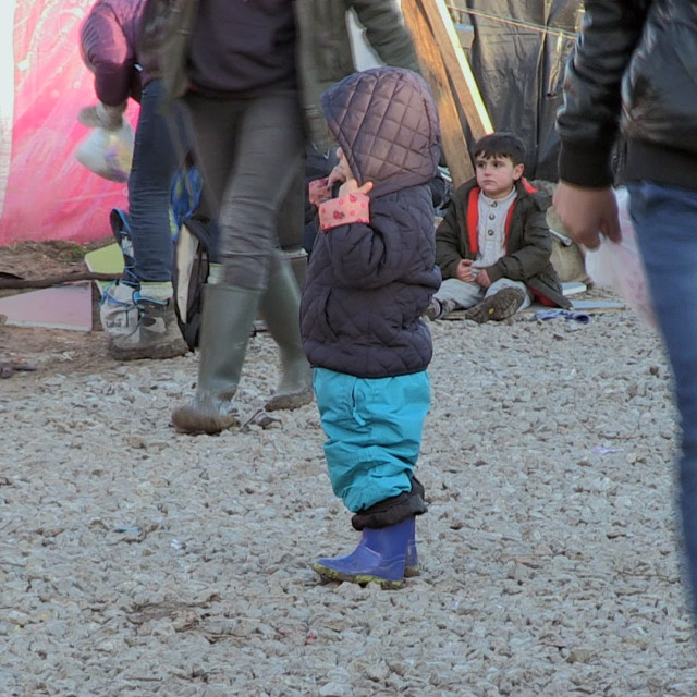 """Calais jungle child 3"" stock image"