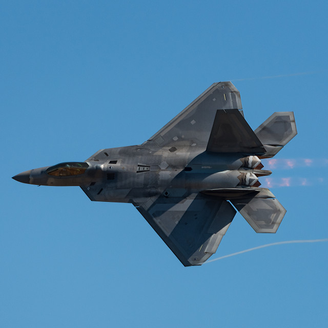 """F22 Fighter Jet"" stock image"