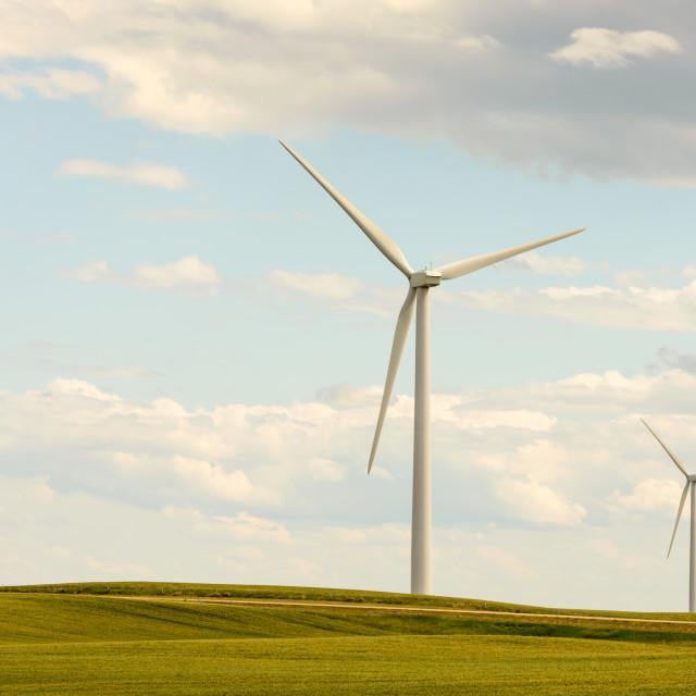 """Wind Power"" stock image"
