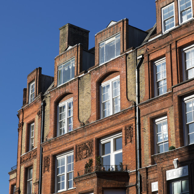 """London Residential Building"" stock image"