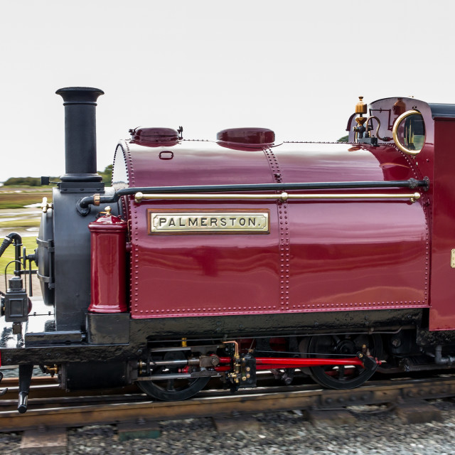 """Ffestiniog Railway Locomotive"" stock image"