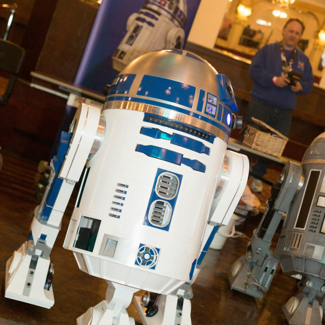 """R2D2"" stock image"