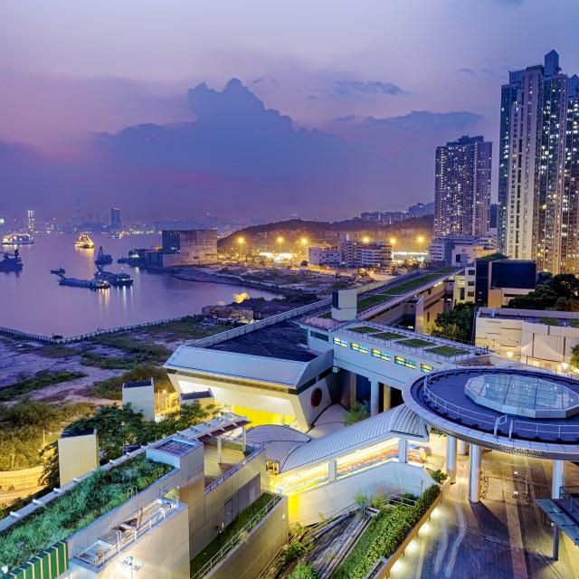 """Hong Hong Public Estate"" stock image"