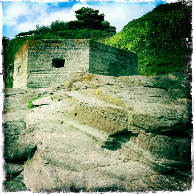 """Pillbox"" stock image"