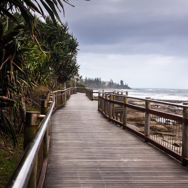 """Path To The Beach"" stock image"