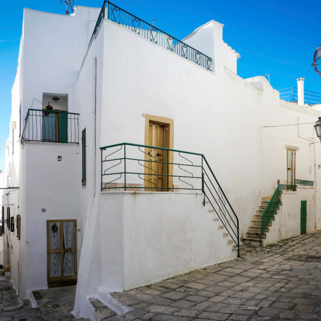 """House in the Historical Centre of Ostuni"" stock image"