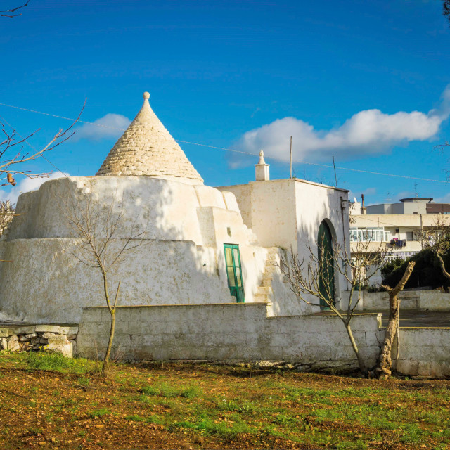"""Trulli of Puglia in Italy"" stock image"