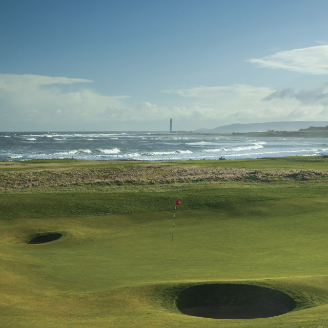 """Dunbar Golf Club"" stock image"