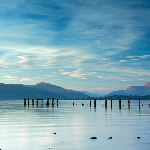 """Loch Lomond"" stock image"