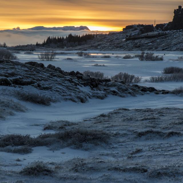 """""""Thingvellir National Park Iceland"""" stock image"""