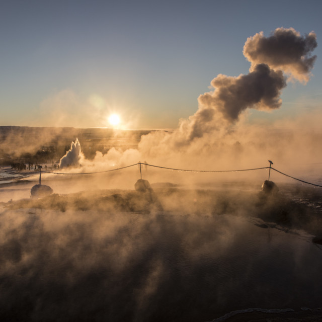 """""""Iceland Geo thermals"""" stock image"""