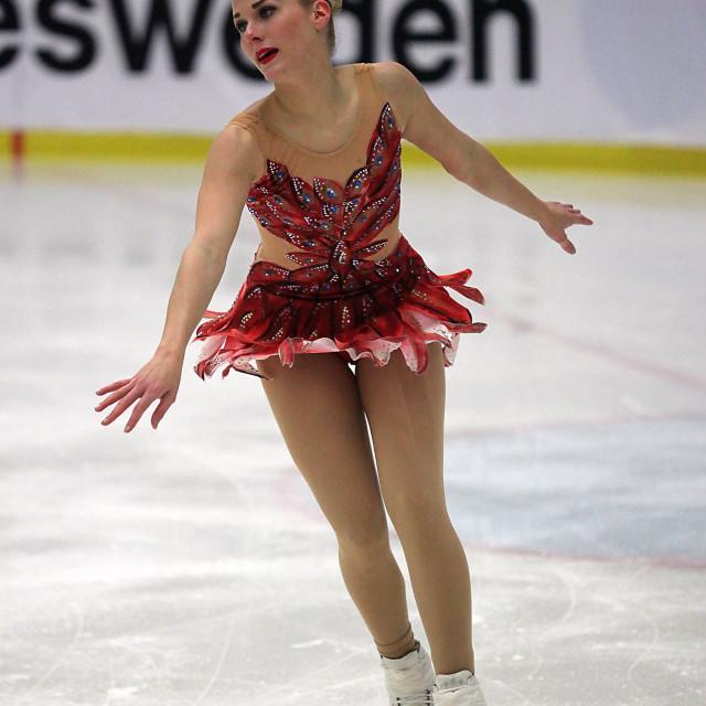 """Isabelle Olsson, Mörrum."" stock image"