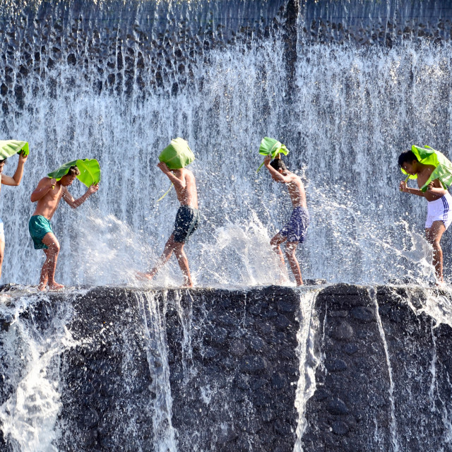 """Water Symphony"" stock image"